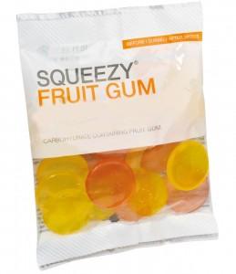 Squeezy fruit gum