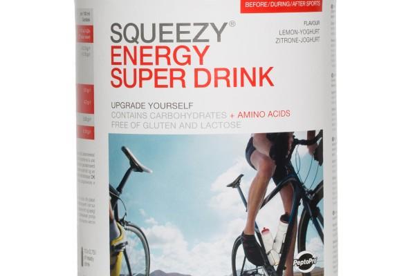 Super Energy Drink - med koffein - NYHET