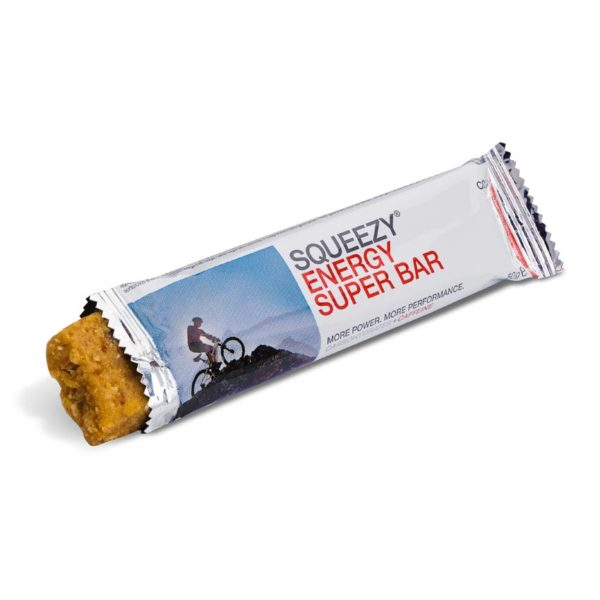 Squeezy super energy bar koffein