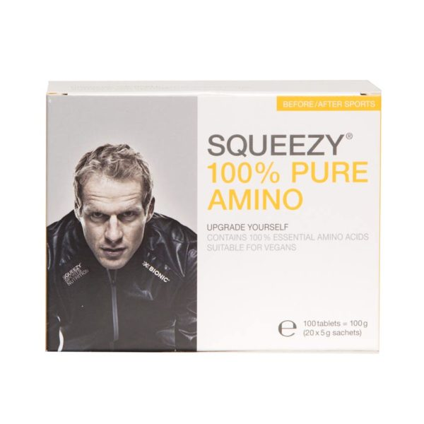 Squeezy 100% pure amino