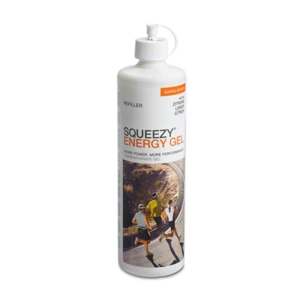 Squeezy energy gel refiller