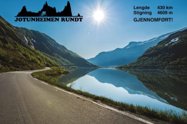 Jotunheimen Rundt - 430 km og 4609 høydemeter